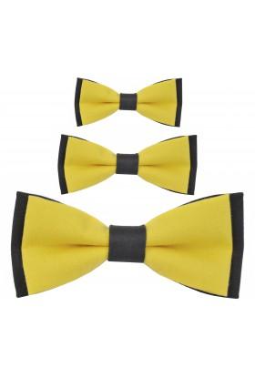 Zestaw much dla taty i synów żółto szare