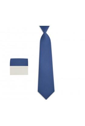 krawat niebieski chłopięcy