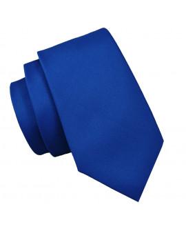 krawat chabrowy męski slim