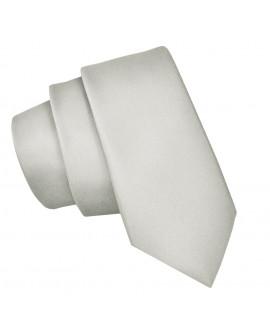 krawat jasno szary męski