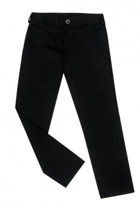 Spodnie 801/03 czarne slim